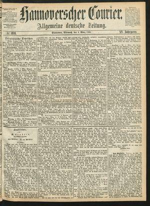 Hannoverscher Kurier vom 04.03.1868
