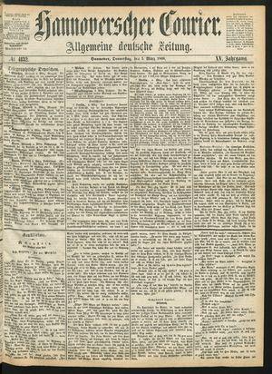 Hannoverscher Kurier on Mar 5, 1868