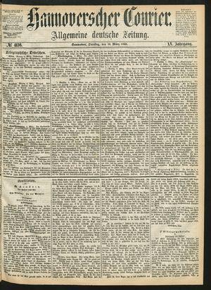 Hannoverscher Kurier vom 10.03.1868