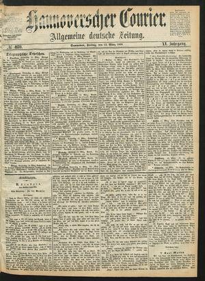Hannoverscher Kurier vom 13.03.1868
