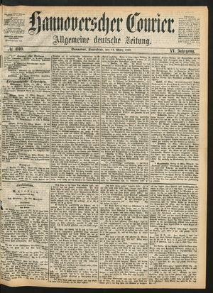 Hannoverscher Kurier vom 14.03.1868