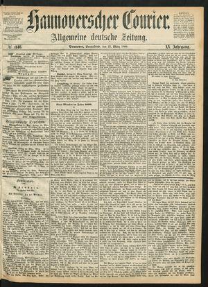 Hannoverscher Kurier vom 21.03.1868