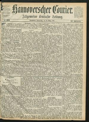 Hannoverscher Kurier vom 26.03.1868