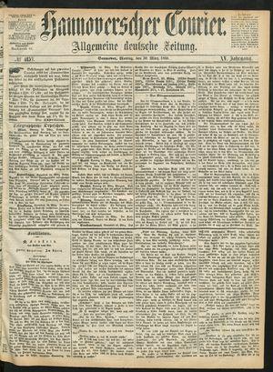 Hannoverscher Kurier vom 30.03.1868