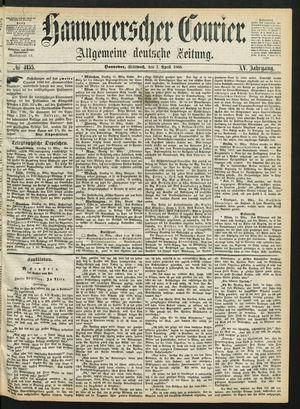 Hannoverscher Kurier vom 01.04.1868