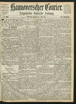Hannoverscher Kurier vom 01.05.1868