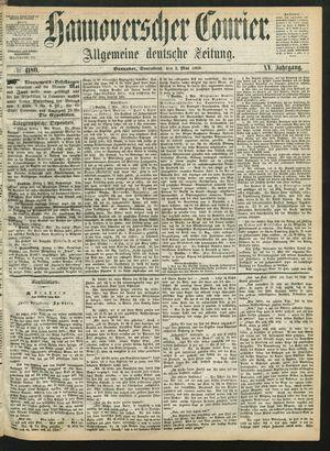 Hannoverscher Kurier vom 02.05.1868
