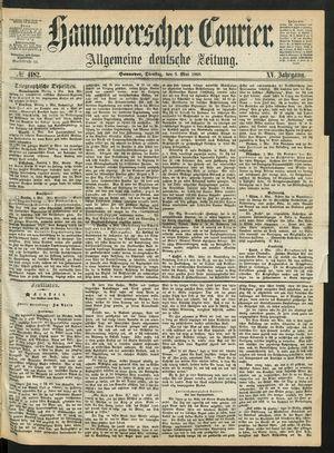 Hannoverscher Kurier vom 05.05.1868