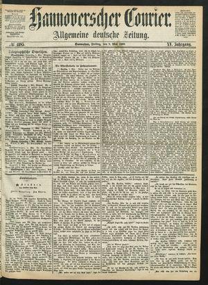Hannoverscher Kurier vom 08.05.1868