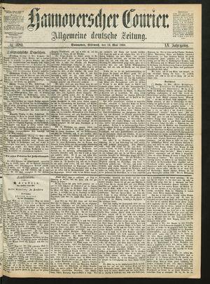 Hannoverscher Kurier vom 13.05.1868