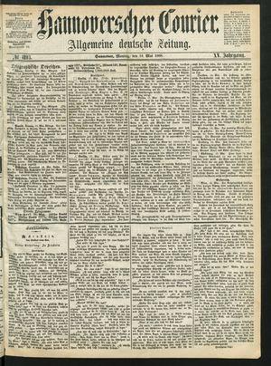 Hannoverscher Kurier vom 18.05.1868