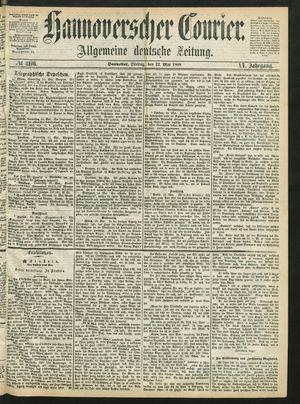 Hannoverscher Kurier vom 22.05.1868
