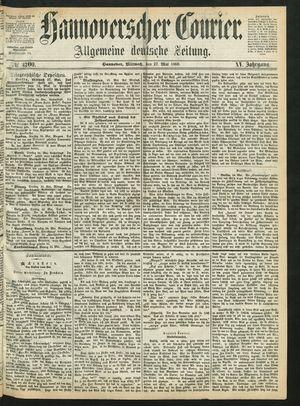 Hannoverscher Kurier vom 27.05.1868