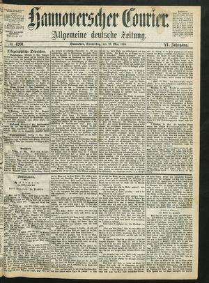 Hannoverscher Kurier vom 28.05.1868