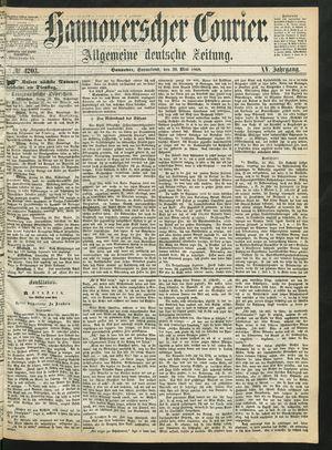 Hannoverscher Kurier vom 30.05.1868