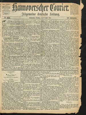 Hannoverscher Kurier vom 23.06.1868