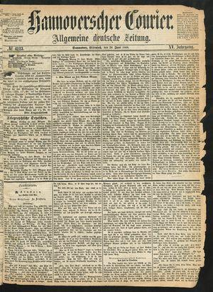 Hannoverscher Kurier vom 24.06.1868