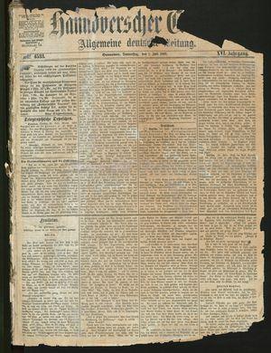 Hannoverscher Kurier on Jul 1, 1869