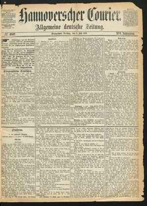 Hannoverscher Kurier vom 06.07.1869