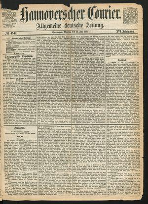 Hannoverscher Kurier on Jul 12, 1869