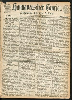 Hannoverscher Kurier vom 17.07.1869