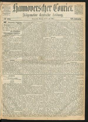 Hannoverscher Kurier vom 26.07.1869