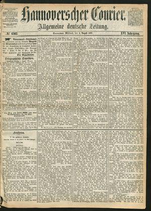 Hannoverscher Kurier vom 04.08.1869