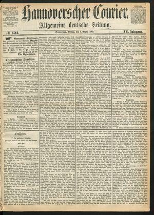 Hannoverscher Kurier vom 06.08.1869