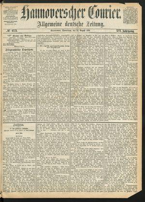 Hannoverscher Kurier vom 14.08.1869