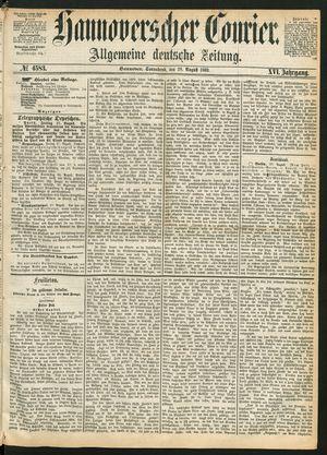 Hannoverscher Kurier vom 28.08.1869