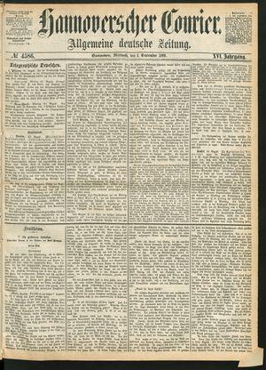 Hannoverscher Kurier vom 01.09.1869