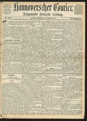 Hannoverscher Courier (22.09.1869)