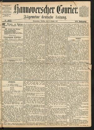 Hannoverscher Kurier vom 19.10.1869