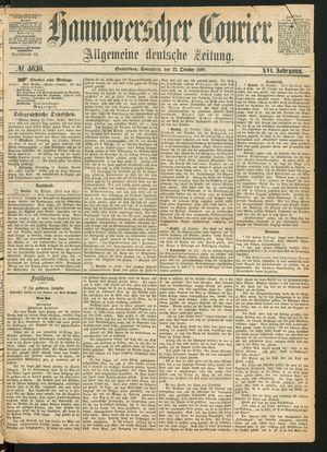 Hannoverscher Kurier on Oct 23, 1869