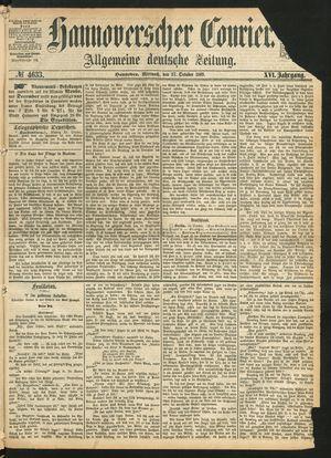 Hannoverscher Kurier on Oct 27, 1869