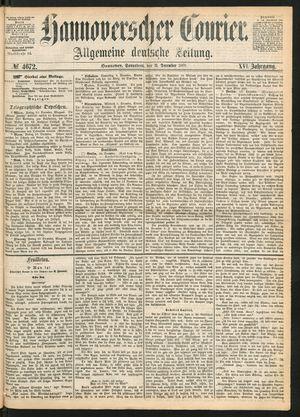 Hannoverscher Kurier on Dec 11, 1869