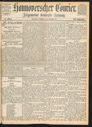 Hannoverscher Kurier on Dec 14, 1869