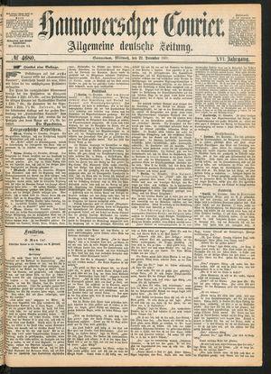 Hannoverscher Kurier on Dec 22, 1869