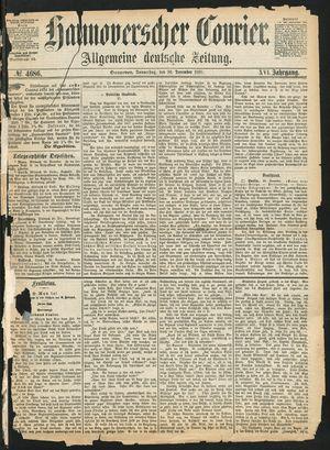 Hannoverscher Kurier on Dec 30, 1869