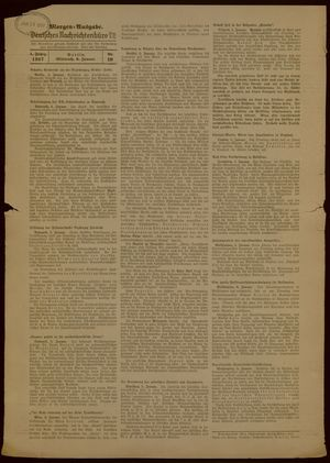 Deutsches Nachrichtenbüro vom 06.01.1937