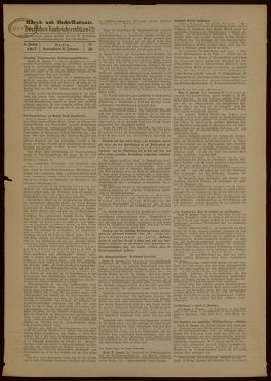 Deutsches Nachrichtenbüro vom 09.01.1937