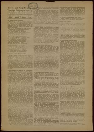 Deutsches Nachrichtenbüro vom 11.01.1937