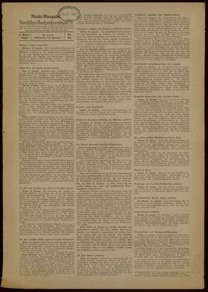 Deutsches Nachrichtenbüro vom 13.01.1937