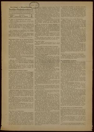 Deutsches Nachrichtenbüro on Jan 14, 1937