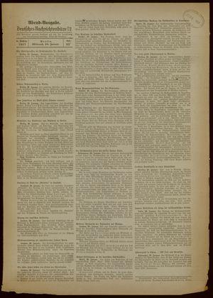 Deutsches Nachrichtenbüro vom 20.01.1937