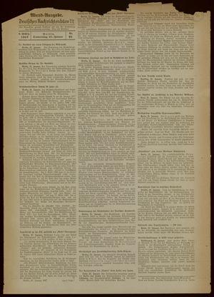 Deutsches Nachrichtenbüro vom 21.01.1937