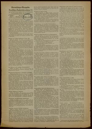 Deutsches Nachrichtenbüro vom 25.01.1937