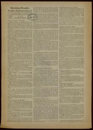 Deutsches Nachrichtenbüro on Jan 26, 1937