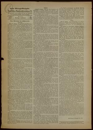 Deutsches Nachrichtenbüro vom 01.02.1937