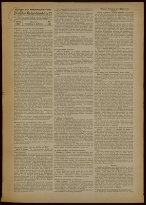 Deutsches Nachrichtenbüro vom 02.02.1937